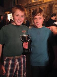Eggthrowing winners